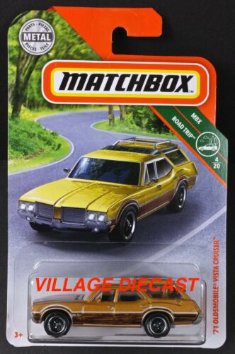 2019 Matchbox #13 Oldsmobile® Vista Cruiser™ BRONZE METALLIC MOC