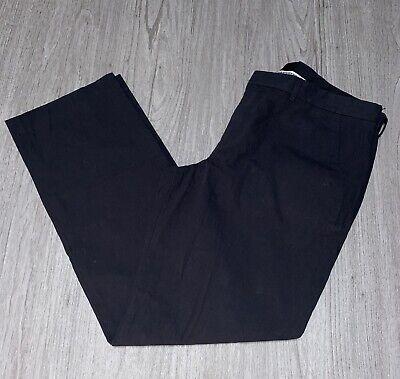 EXPRESS MEN OXFORD Dress Pants Linen Charcoal Gray Suit Photographer CHOOSE SIZE