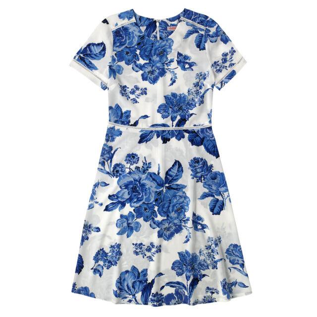 Cath Kidston Floral Dress Size 14 Brand New