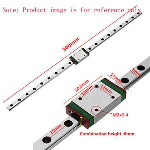 Mgn7/9/12/15 Miniatur Rail Guide Slide Linear Block Beförderung CNC