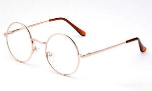 486adc437e New John Lennon Round Retro Metal Frame Clear Lens Eye Glasses ...