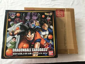 F Bandai Dragonball Super Carddass Part 31 & 32 Card Box Set Complet 2016