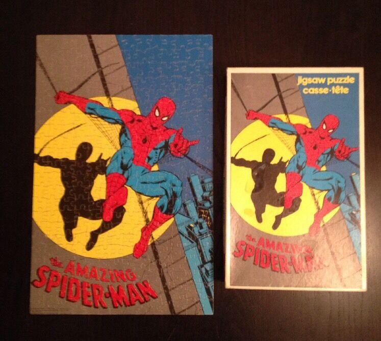 Spidermans pussel 1980 ((Kanadensare) 300 pc