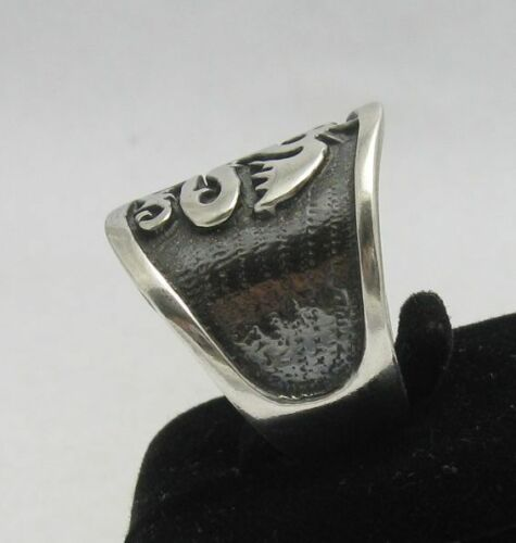 Sterling silber ring solid 925 Drachen band R000331 Empress