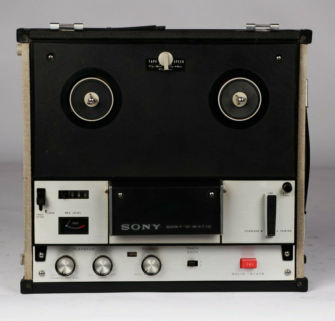 Sony TC-105 4 track Reel to Reel Player / Recorder FAULTY