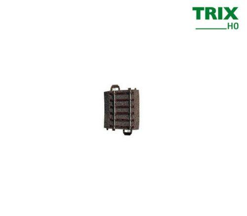 Trix 62206 binario curvo raggio 437,5 mm + merce nuova Arco di 5,7 °
