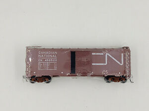HO-Scale-Athearn-Canadian-National-SD-40-039-Box-Car-CN-486520-Ex-Model-Train-KDs