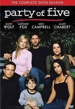 Party of Five: Complete Sixth Season 6 (DVD, 2013, 5-Disc)  Matthew Fox