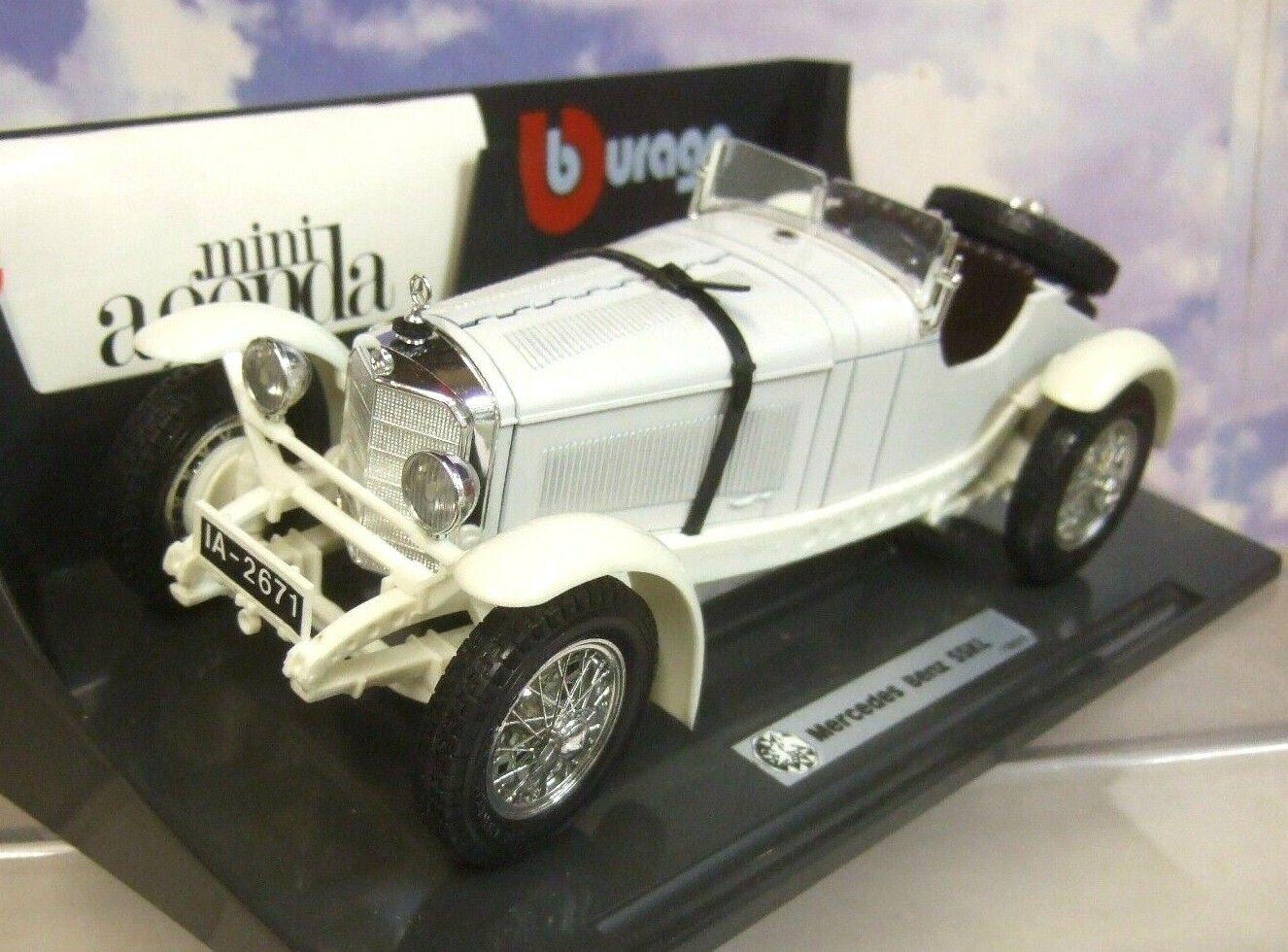 Früh Ausgabe Burago Diamonds 1 18 Weiß 1931 Mercedes-Benz Ssk