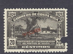 Details about Costa Rica 1924 20c Mission, SPECIMEN overpt  from Am   Banknote archives, #134