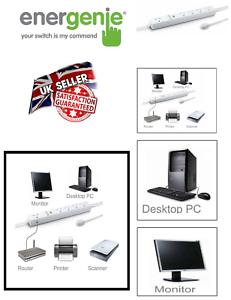 Douilles Extension Lead PC ordinateur Plug veille Puissance énergétique Saver 5 Way Gang