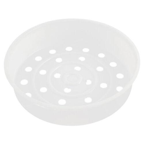 Dish Plate Food Rice Cooker Steam Basket Steamer Insert 20cm Dia W4Y5