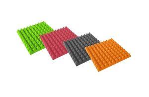 Pyramiden Akustikplatten Schaumstoff Hallreduzierun<wbr/>g Gute Qualität 50 x 50 x 5cm