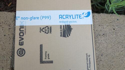 5x7 Non Glare Clear ACRYLIC PLEXIGLASS  Replacement Picture Frame Lense P99,2pk