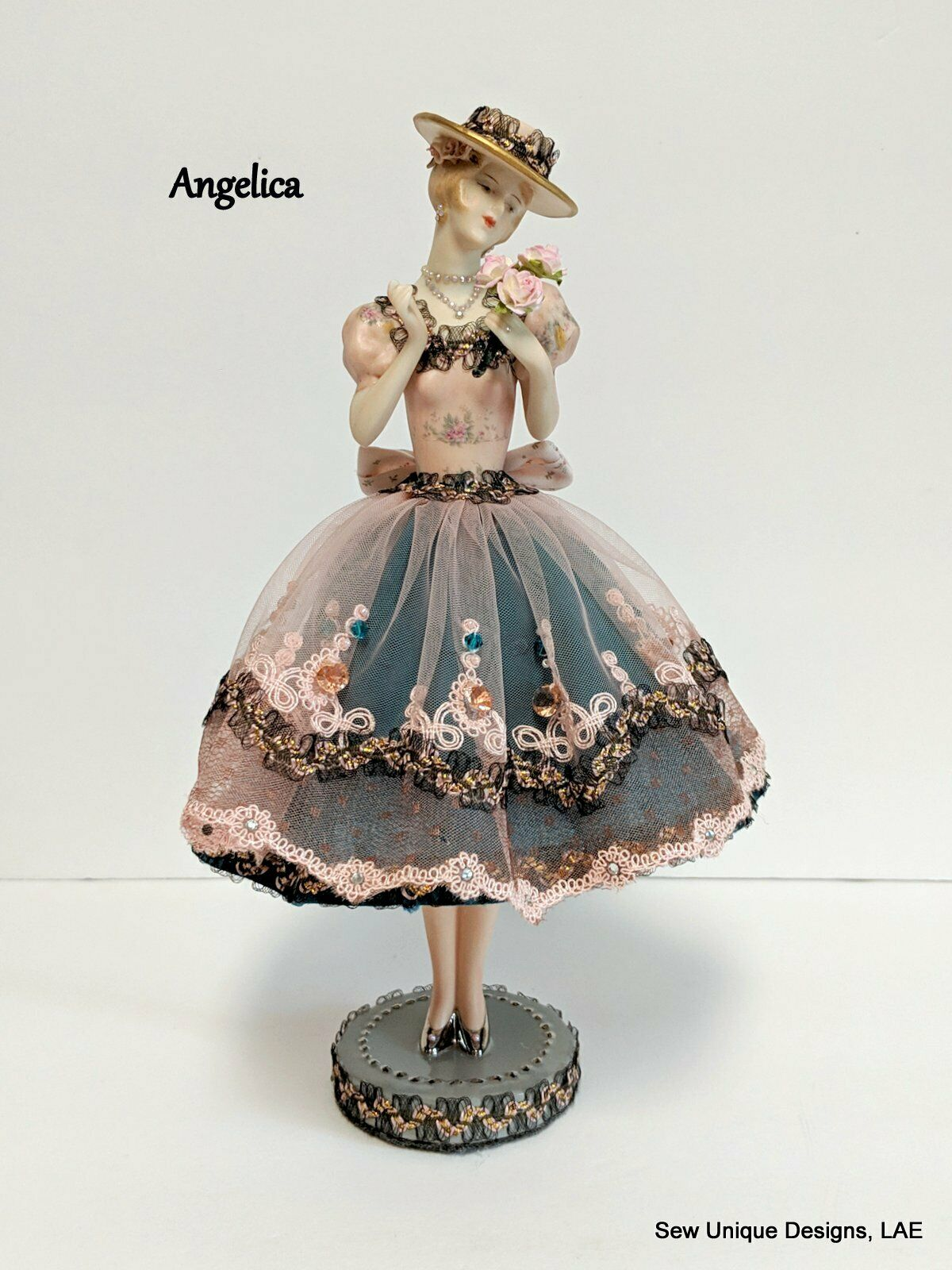 Half bambola  w LEGS, Boudoir bambola, Porcelain moda Art bambola, Collectible OOAK  grandi prezzi scontati