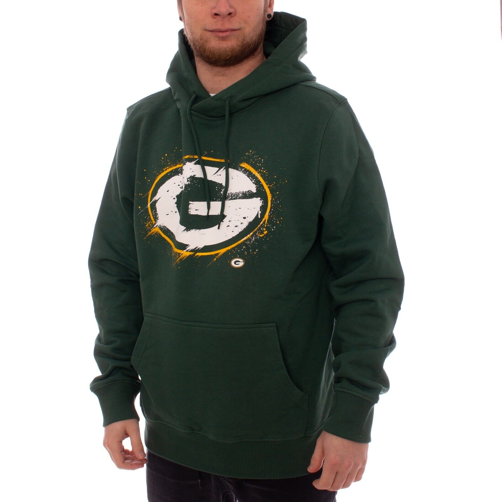 Fanatics NFL Football Grün Bay Packers Hoodie Herren Sweater grün 35117
