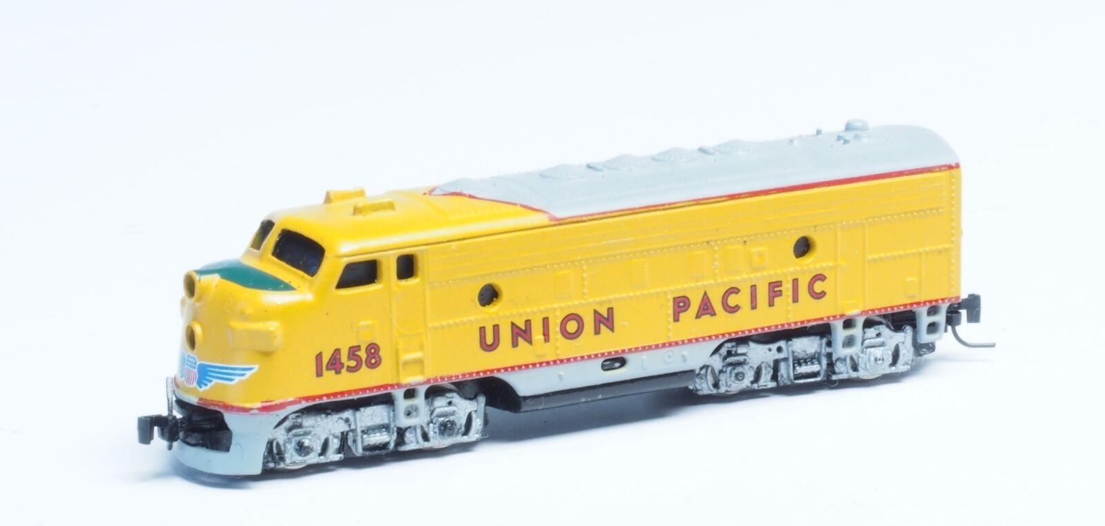 14001-2 Micro-Trains MTL Z-scale Union Pacific F7 powerosso A unit Diesel