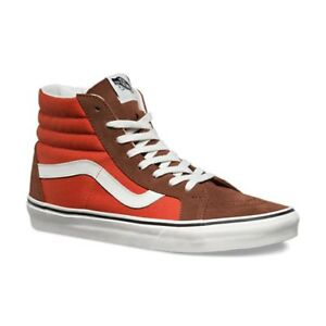 Image is loading VANS-Sk8-Hi-Reissue-2-Tone-Cappuccino-Burnt-