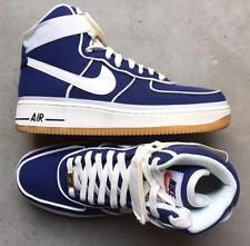 Nike Air Force 1 High LV8 Binary Blue Sail Brown Gum size 10 (# 806403-401)