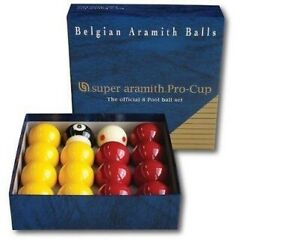 Super-Aramith-Tournament-Quality-Pro-Cup-Red-and-Yellow-2-Inch-Ball-Set