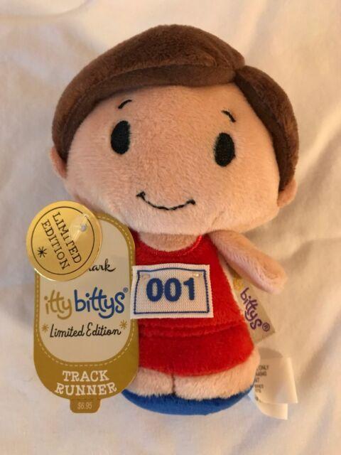 Hallmark Itty Bittys BOY Track Runner Limited Edition Bitty