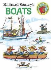 Richard Scarry's Boats Scarry  Richard 9780385392693