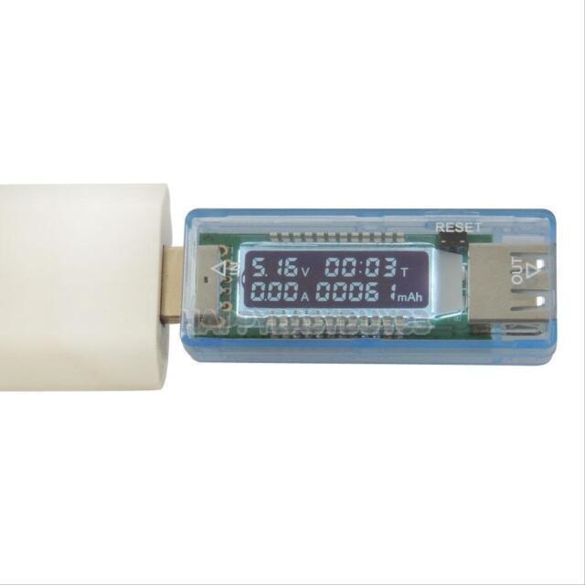 USB Charger Doctor Voltage Current Meter Mobile Battery Tester Power Detector