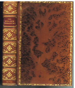The-Golden-Treasury-by-Francis-Palgrave-1925-1st-American-Ed-Rare-Vintage-Book