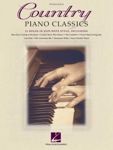 COUNTRY PIANO CLASSICS SOLO SONG SHEET MUSIC