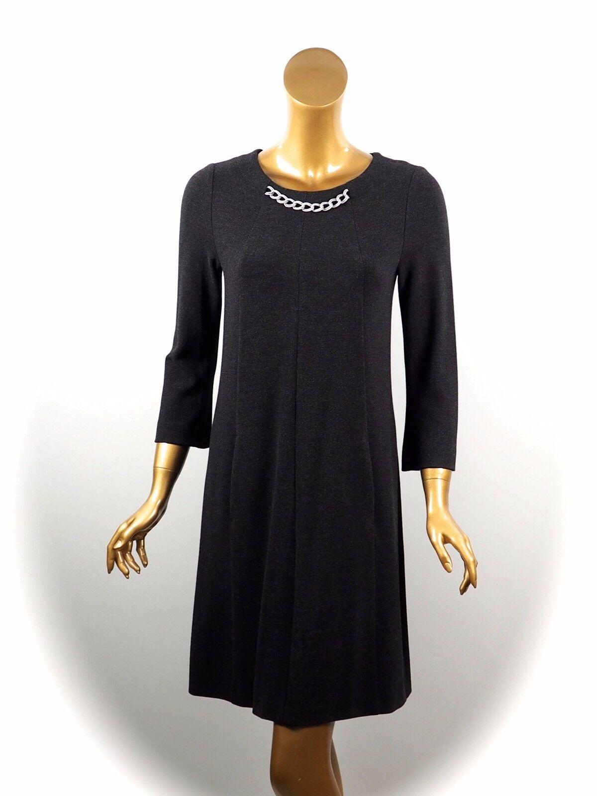 Marccain Collections  Robe de Haute Qualité avec Bijoux Bordure  Taille n3 38