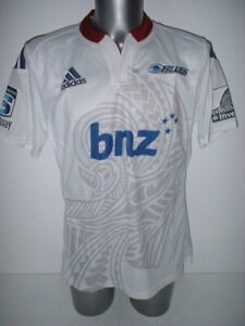 Details about Blues Adidas BNIB Shirt Jersey Adult Large Rugby Union New Zealand Top F L