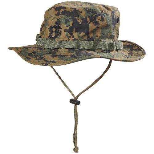 US Marines Usmc Army Marpat woodland Digital Mccuu Boonie Hat Mütze cap