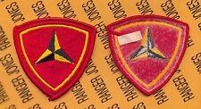USMC MARINE CORPS 3rd Marine Division MAR DIV patch