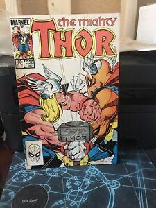 Thor-338-Dec-1983-Marvel-F-SECOND-BETA-RAY-BILL
