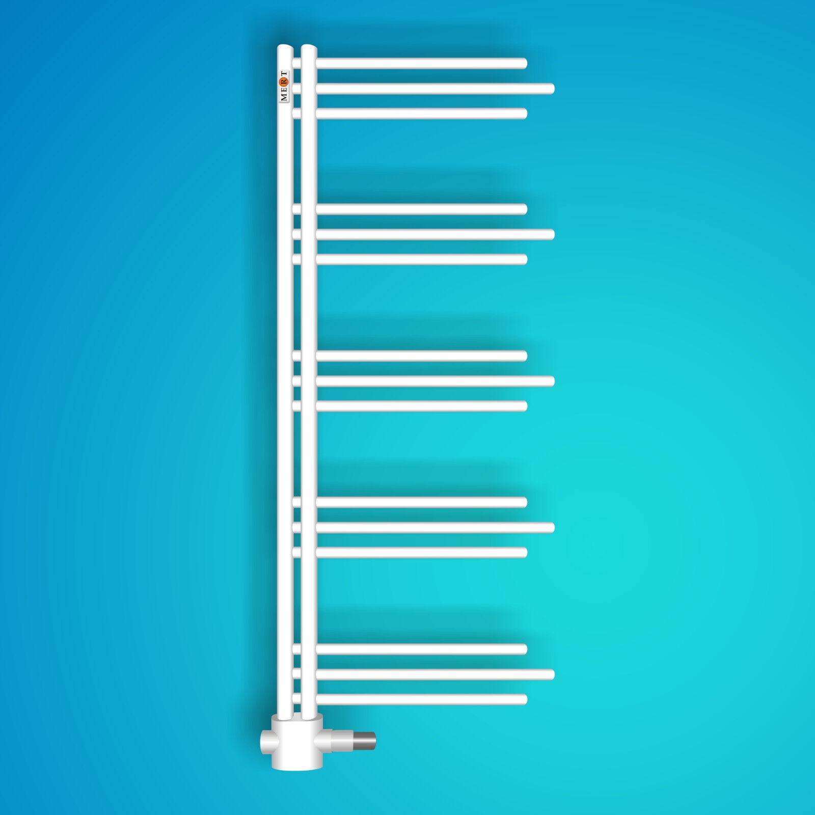 Mert Design Badheizkörper NEZIFE 500 mm x 1200 mm weiß, B-WARE