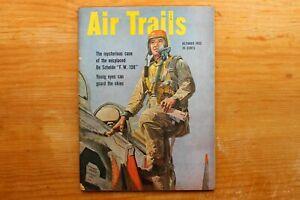 "Vintage Original ""Air Trails"" Pictorial Magazine October 1952"