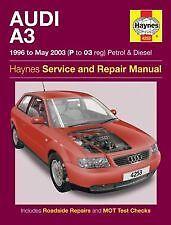 4253 ⭐️ Workshop Car Manual Audi A3 Petrol 96-03 Diesel Haynes Owners