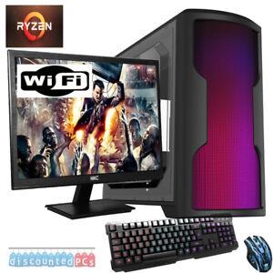 VELOCE-ryzen-3-2200G-QUAD-CORE-8GB-1TB-Desktop-PC-COMPUTER-PER-GIOCARE-VEGA-8