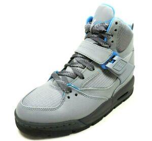 Nike-Air-Jordan-Flight-45-TRK-GS-467929-007-Boys-Shoes-Basketball-Sneakers-Grey