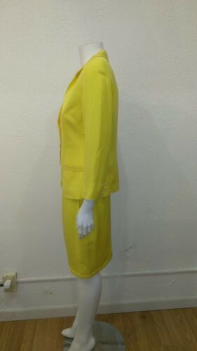 suit Long Fontana Couture Sleeve Silk Skirt 8x4Cq
