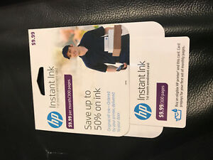Details about HP Instant Ink, 1st month Enrollment Card, 300 page plan  T0A49AN FREE FAST