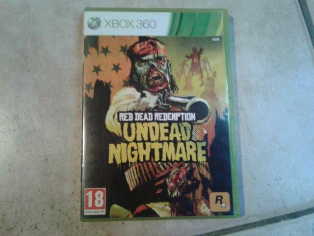 Jeu Xbox 360 Red Dead Rédemption Undead Nightmare