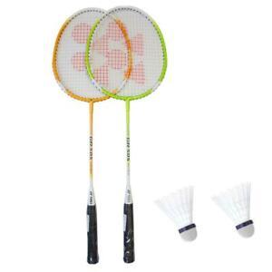 Yonex-Badminton-Racket-Racquet-Set-two-Racquets-amp-Two-Shuttlecocks