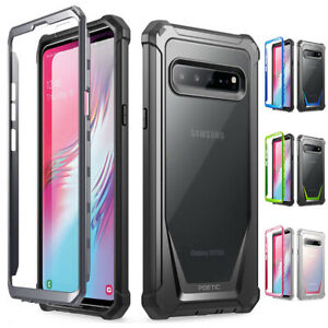 Galaxy-S10-5G-2019-Rugged-Clear-Case-Poetic-Ultra-Hybrid-Shockproof-Cover