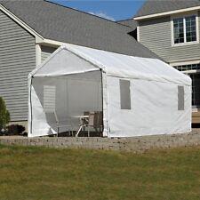 ShelterLogic Enclosed Canopy Kit with Windows, White