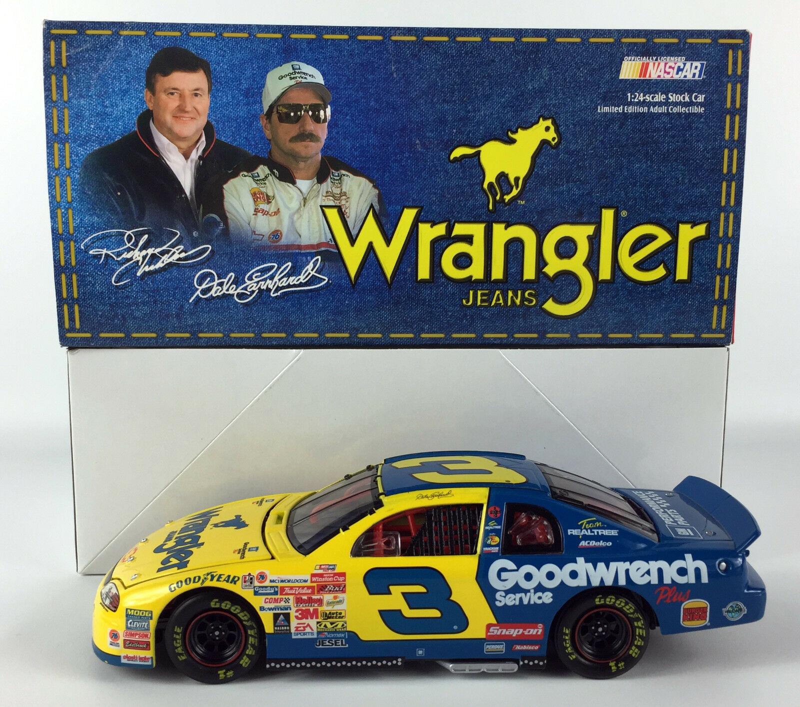 Action Diecast Dale Earnhardt GM Goodwrench Wrangler 1999 Monte Carlo
