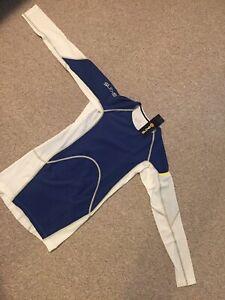 SKINS-DNAmic-Ultimate-Cool-Men-039-s-Long-Sleeve-Compression-Shirt-Men-s-Medium