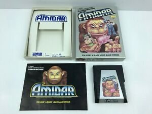 Atari-2600-Amidar-Parker-Brothers-Complete-in-Box-CIB-Clean-Tested