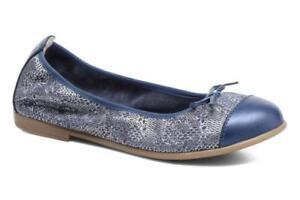 Bopi Sanodi Blue Slip On Shoes UK 2.5 EU 35 CH04 51