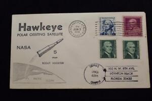 Space-Cover-1974-Macchina-Cancel-Hawkeye-Polar-Orbiting-Satellite-Launch-4953